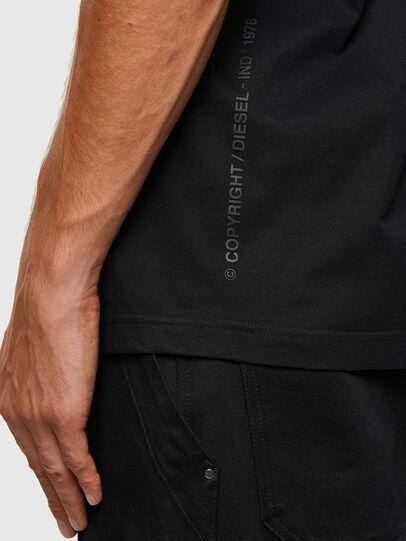 Diesel - T-TUBOLAR-N2, Schwarz - T-Shirts - Image 4