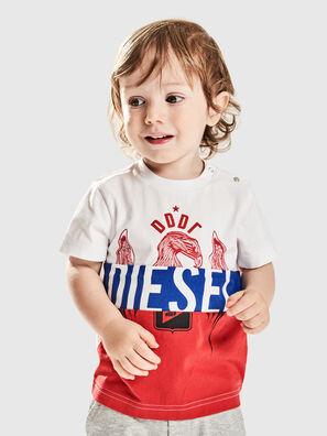 TRICKYB, Weiß/Rot/Blau - T-Shirts und Tops