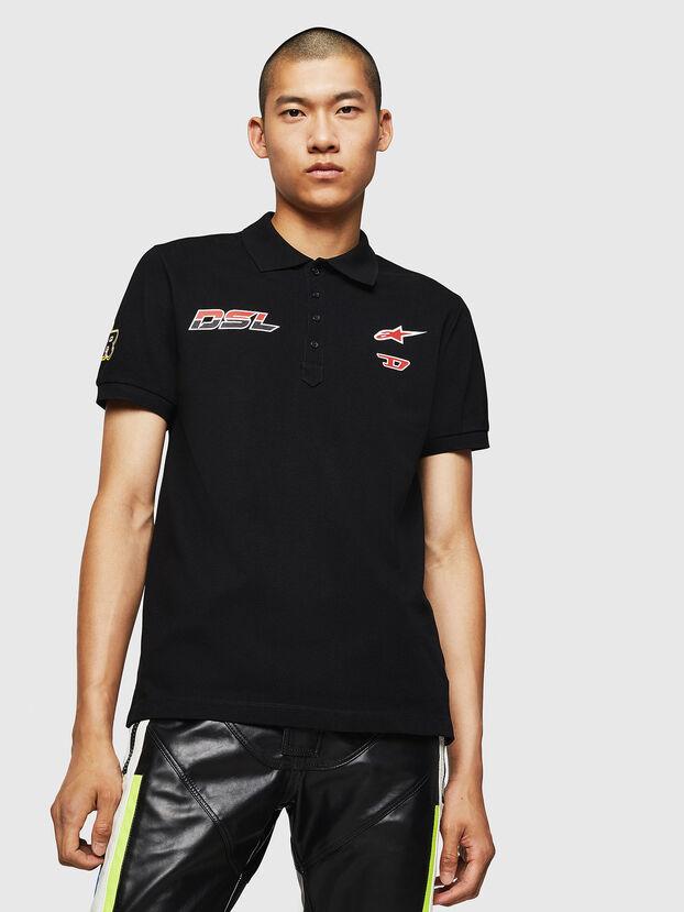 ASTARS-T-NIGHT-NEW, Schwarz - T-Shirts