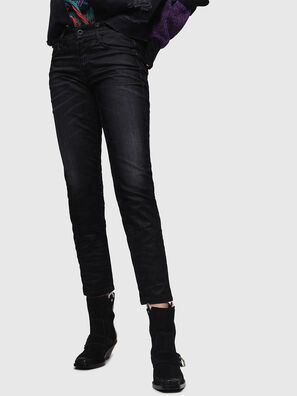 D-Rifty 0091I, Schwarz/Dunkelgrau - Jeans