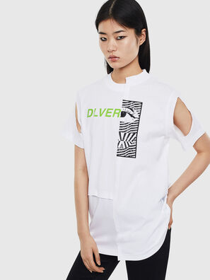 T-GOMEZ, Weiß - T-Shirts