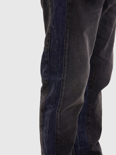 Diesel - D-Slack 009KZ, Schwarz/Dunkelgrau - Jeans - Image 5