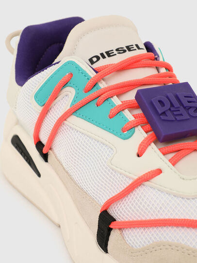 Diesel - S-SERENDIPITY LC EVO, Weiss/Rosa - Sneakers - Image 4