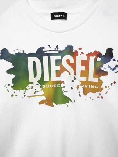 Diesel - SCREWDOSKY OVER, Weiß - Sweatshirts - Image 3