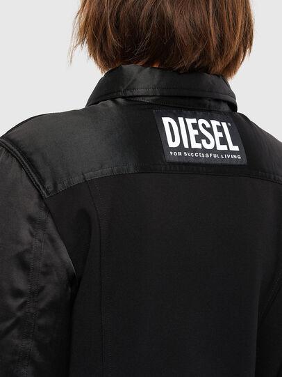 Diesel - G-PADD, Schwarz - Jacken - Image 4