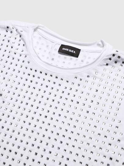 Diesel - TJRATY, Weiß - T-Shirts und Tops - Image 3