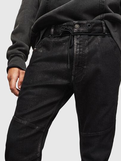 Diesel - D-Luhic JoggJeans 0092W, Schwarz/Dunkelgrau - Jeans - Image 3