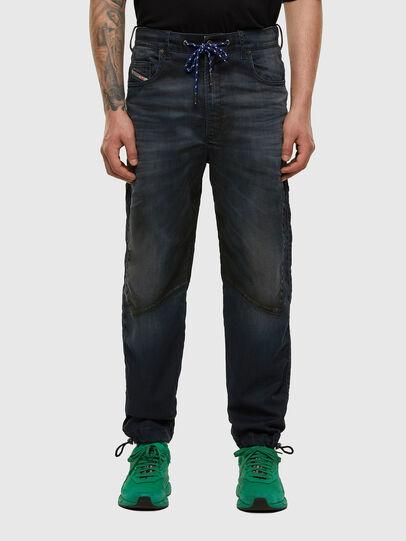 Diesel - D-Skint JoggJeans 069PE, Dunkelblau - Jeans - Image 1