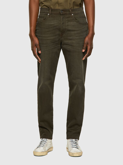 Diesel - D-Fining-Chino 0699P, Armeegrün - Jeans - Image 1