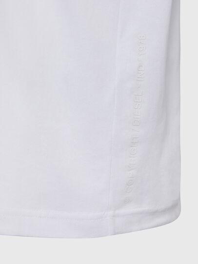 Diesel - T-JUST-X64, Weiß - T-Shirts - Image 4