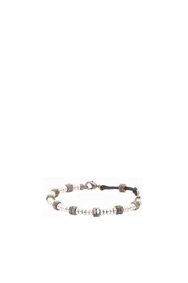 Armband mit Perlen und Muttern