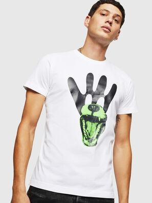 T-DIEGO-B18, Weiß - T-Shirts