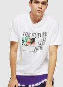 T-WALLACE-Y5, Weiß - T-Shirts