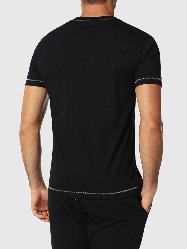 Diesel - UMLT-JAKE, Schwarz - T-Shirts - Image 2