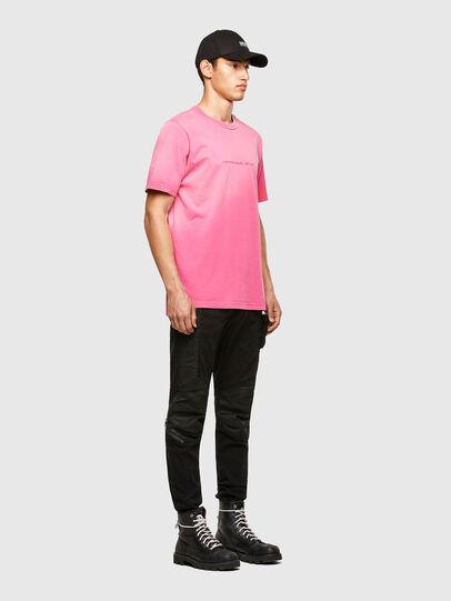 Diesel - T-JUBIND-SLITS-A1, Rosa - T-Shirts - Image 4