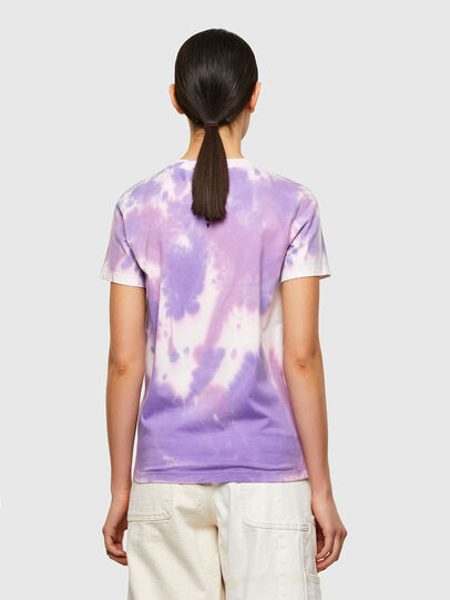 Diesel - T-SILY-A12, Lila - T-Shirts - Image 2