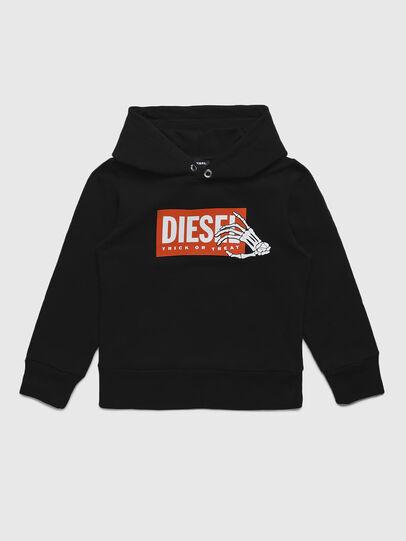 Diesel - SKELE-TSE, Schwarz - Sweatshirts - Image 1