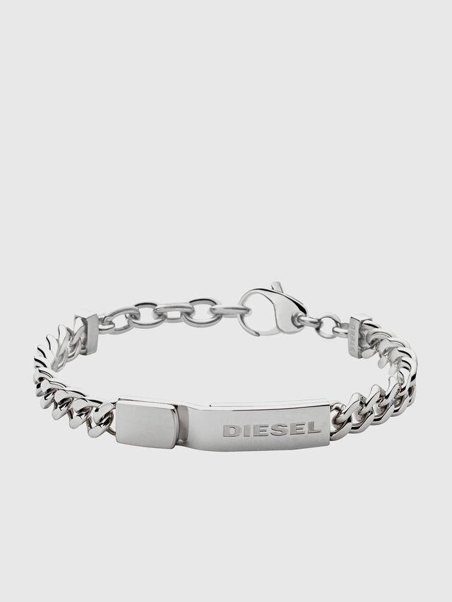 Diesel - BRACELET DX0966, Silber - Armbänder - Image 1