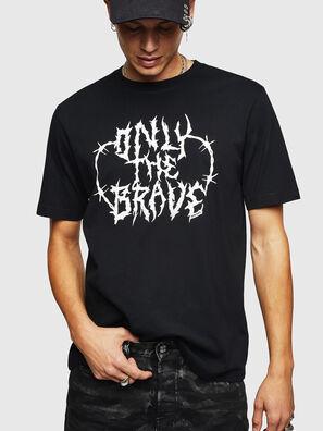 T-JUST-B23, Schwarz - T-Shirts
