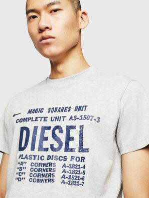 T-DIEGO-B6, Hellgrau - T-Shirts