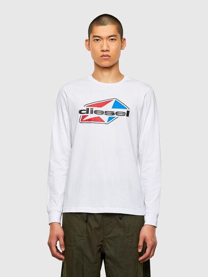 Diesel - T-DIEGOS-LS-K41, Weiß - T-Shirts - Image 1