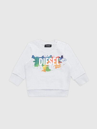 Diesel - SCREWDOSKYB, Weiß - Sweatshirts - Image 1
