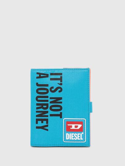 Diesel - PASSPORT II, Azurblau - Continental Portemonnaies - Image 1