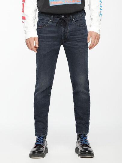 Diesel - Thommer JoggJeans 069AG, Dunkelblau - Jeans - Image 1