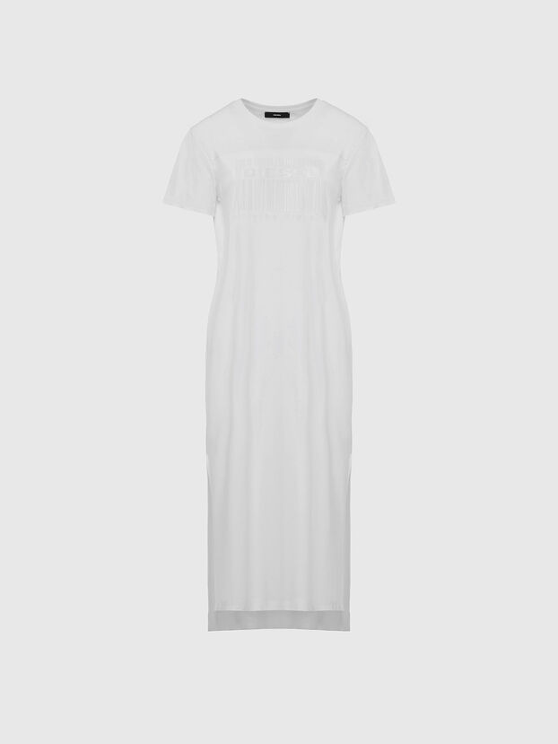 D-FELIX-LONG-E1, Weiß - Kleider