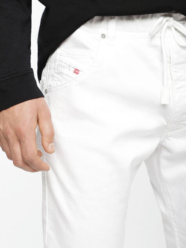 Diesel - Krooley JoggJeans 0684U, Weiß - Jeans - Image 5