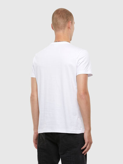 Diesel - T-DIEGOS-N22, Weiß - T-Shirts - Image 2