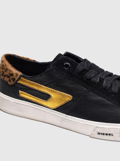 Diesel - S-MYDORI LL W, Blau/Gold - Sneakers - Image 5