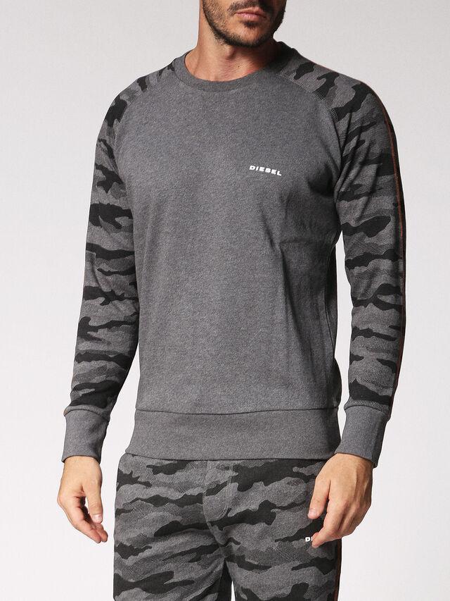 Diesel - UMLT-CASEY, Grau - Sweatshirts - Image 1