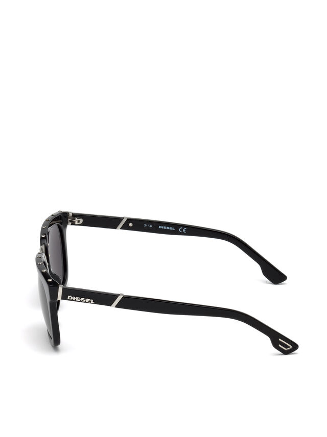 Diesel - DL0212, Schwarz - Sonnenbrille - Image 3
