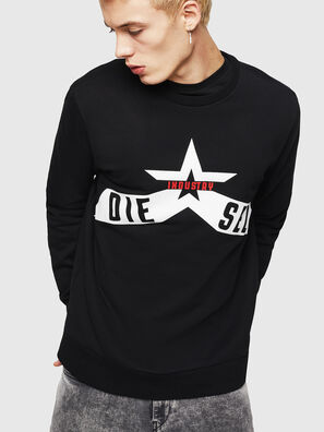 S-GIR-A2, Schwarz - Sweatshirts