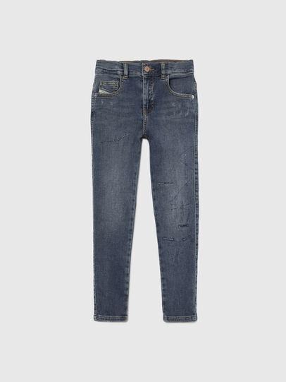 Diesel - D-SLANDY-HIGH-J JOGGJEANS, Mittelblau - Jeans - Image 1