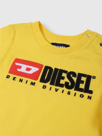 Diesel - TJUSTDIVISIONB, Gelb - T-Shirts und Tops - Image 3