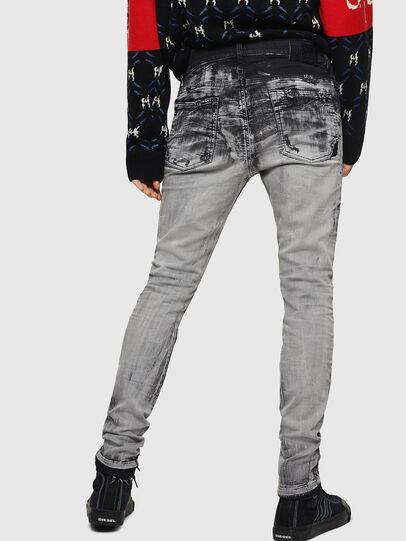 Diesel - D-Reeft JoggJeans 084AH, Schwarz/Dunkelgrau - Jeans - Image 2