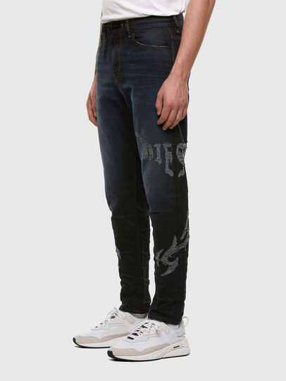 Diesel - D-Vider JoggJeans 009HE, Dunkelblau - Jeans - Image 6