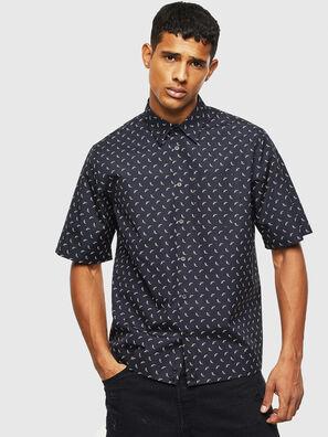 S-ATWOOD-B, Schwarz - Hemden