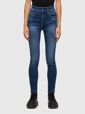 Slandy High 009FE, Dunkelblau - Jeans