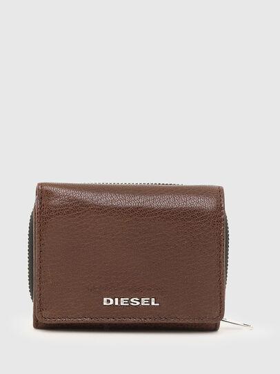 Diesel - SPEJAP, Braun - Kleine Portemonnaies - Image 1