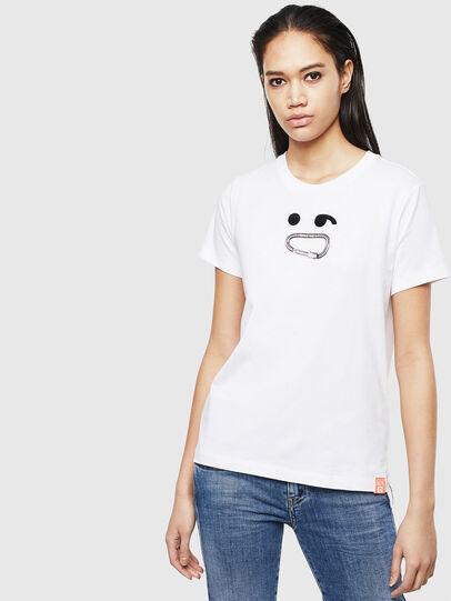 Diesel - T-SILY-S8, Weiß - T-Shirts - Image 1