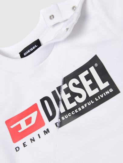 Diesel - SGIRKCUTYB, Weiß - Sweatshirts - Image 3