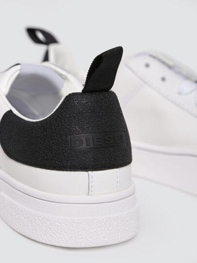 Diesel - S-CLEVER LOW W, Weiß/Schwarz - Sneakers - Image 4