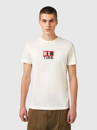 Diesel - T-DIEGOS-B10, Weiß - T-Shirts - Image 1