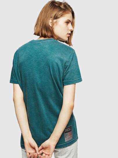 Diesel - T-FLAVIA-IC, Blau - T-Shirts - Image 2