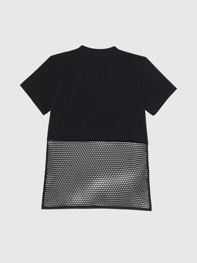 Diesel - BFOWT-BLOKY-P, Schwarz - T-Shirts - Image 2