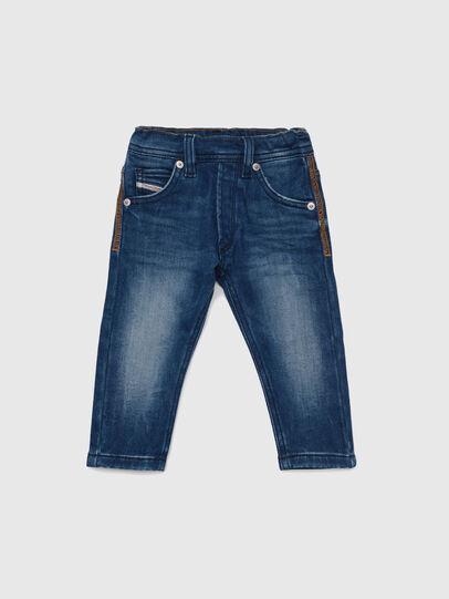 Diesel - KROOLEY-B JOGGJEANS-N, Mittelblau - Jeans - Image 1