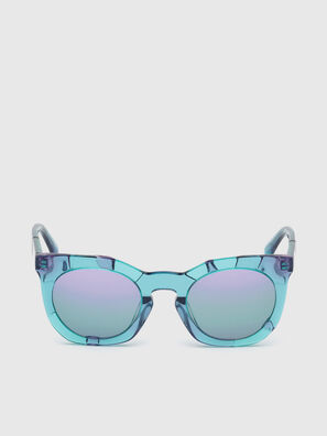 DL0270, Azurblau - Sonnenbrille